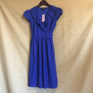 Banana Republic Blue Wrap Dress